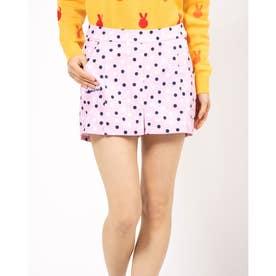 ポップコーンドットptEst スカート (ピンク)