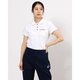 アメリカンデニムカノコ 半袖シャツ (ホワイト 004)