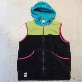CHUMS FLEECE HOODIE VEST (OTHERCOLOR1)