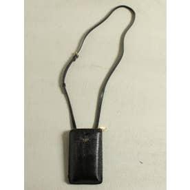 ≪VIOLAd'ORO≫スマートフォンポシェット(財布機能付き) (ブラック)
