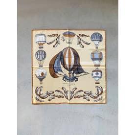 ≪MANIPURI≫クラシックバルーンスカーフ (ベージュ)