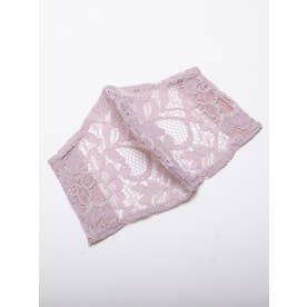 レースマスクカバー《手洗い可能》 (ピンク)
