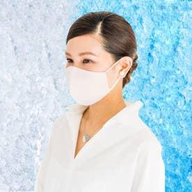 抗菌・抗ウイルスのクレンゼ-クールブレスマスク大人用(標準サイズ) (ホワイト)