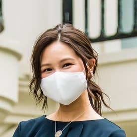 抗菌・抗ウイルスのクレンゼ-クールブレスマスク大人用(標準サイズ) (ライトグレー)