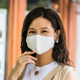 バリアファイブクールタッチマスク大人用(標準サイズ) (ホワイト)