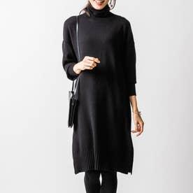 ブレンダナーシングニットドレス (ブラック)