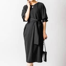 アイシャナーシングドレス (ブラック)