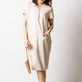 イネスパールナーシングドレス(半袖) (エクリュ)