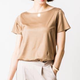 オリビアTシャツ (モカベージュ)