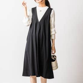 エルマジャンパースカート (ブラック)