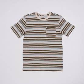 VOLCOM/キッズ Tシャツ C0112103 (ブラウン)