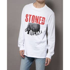 JP MAG STONED L/S TEE (WHT)