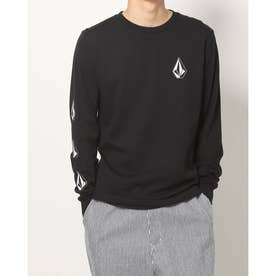 ICONIC STONE L/S TEE (BLK)