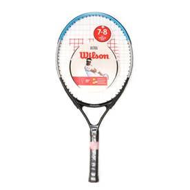 ジュニア 硬式テニス 張り上がりラケット ULTRA JR RKT 23 BKBL WR049710H