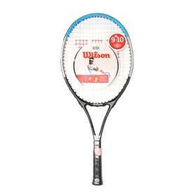 ジュニア 硬式テニス 張り上がりラケット ULTRA JR RKT 25 BKBL WR049610H