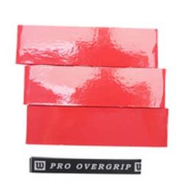 テニス グリップテープ プロオーバーグリップ 3本入り WRZ4020RD