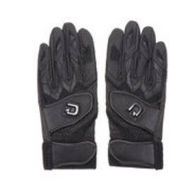 野球 バッティング用手袋 バッティンググローブ(両手) WTABG1002 (ブラック)