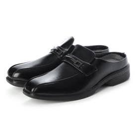 ビジネスシューズ サンダル クロッグ 紳士靴 (BLACK)