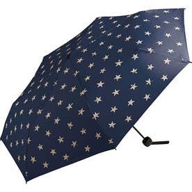ワールドパーティー MSM MEN umbrella MINI 紳士用折りたたみ傘 (ヴィンテージスター)