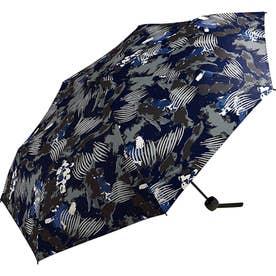 ワールドパーティー MSM MEN umbrella MINI 紳士用折りたたみ傘 (ペイントネイビー)