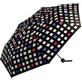ワールドパーティー MSM MEN umbrella MINI 紳士用折りたたみ傘 (コントラストチェック)