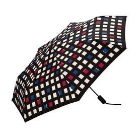 雨傘 UNISEX ASCフォールディングアンブレラ (コントラストチェック)