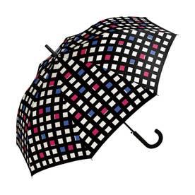 雨傘 UNISEX ベーシックジャンプアンブレラ (コントラストチェック)