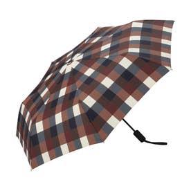 雨傘 UNISEX ASCフォールディングアンブレラ (ワインチェック)