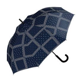 雨傘 UNISEX ベーシックジャンプアンブレラ (ペイズリー)