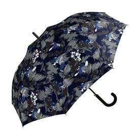 雨傘 UNISEX ベーシックジャンプアンブレラ (ペイントネイビー)