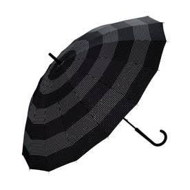 雨傘 UNISEX 16K UMBRELLA (ドットボーダー)