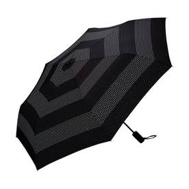雨傘 UNISEX ASCフォールディングアンブレラ (ドットボーダー)