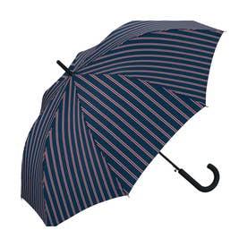 雨傘 UNISEX ベーシックジャンプアンブレラ (スクールストライプ)