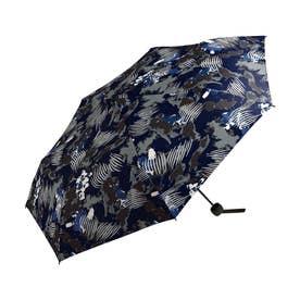 雨傘 UNISEX ベーシックフォールディングアンブレラ (ペイントネイビー)
