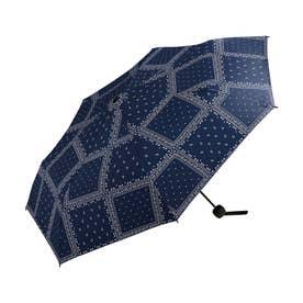 雨傘 UNISEX ベーシックフォールディングアンブレラ (ペイズリー)