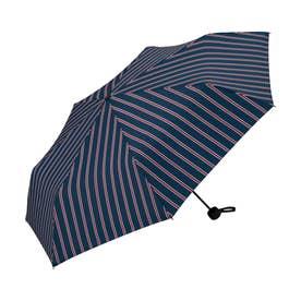 雨傘 UNISEX ベーシックフォールディングアンブレラ (スクールストライプ)