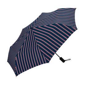 雨傘 UNISEX ASCフォールディングアンブレラ (スクールストライプ)