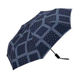 雨傘 UNISEX ASCフォールディングアンブレラ (ペイズリー)
