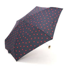 折りたたみ傘 晴雨兼用 (424126NV.ネイビー)