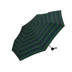 MINI 紳士用折りたたみ傘 (MSM-045.GNボーダー)