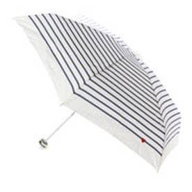 雨傘 ハート刺繍ボーダー mini (OF)