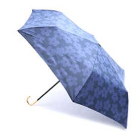 雨傘 フラワーレースmini (ネイビー)