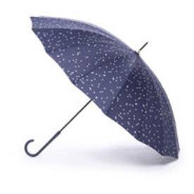 雨傘 16本骨スター (ネイビー)