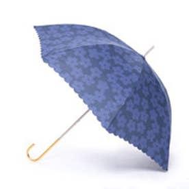 雨傘 フラワーレース (ネイビー)