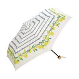 雨傘 ボーダーフルーツmini (オフ)