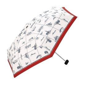 雨傘 ベネチアmini (レッド)