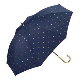 ワールドパーティー W.P.C81 日傘 UV 晴雨兼用 2300 (81-30469.遮光Pハート_ネイビー)