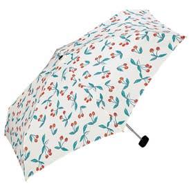 ワールドパーティー W.P.C wpcfold22003 折りたたみ傘 (1656189.チェリー_オフ)