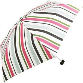 ワールドパーティー W.P.C wpcfold22003 折りたたみ傘 (3392189.Mストライプ_ピンク)