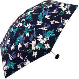 ワールドパーティー W.P.C wpcfold22003 折りたたみ傘 (3673189.スケッチ花_ネイビー)